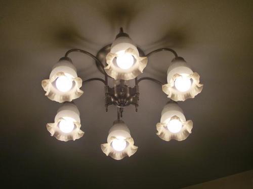 LEDにかえた照明器具.JPG